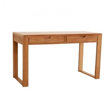 白蜡木实木书桌