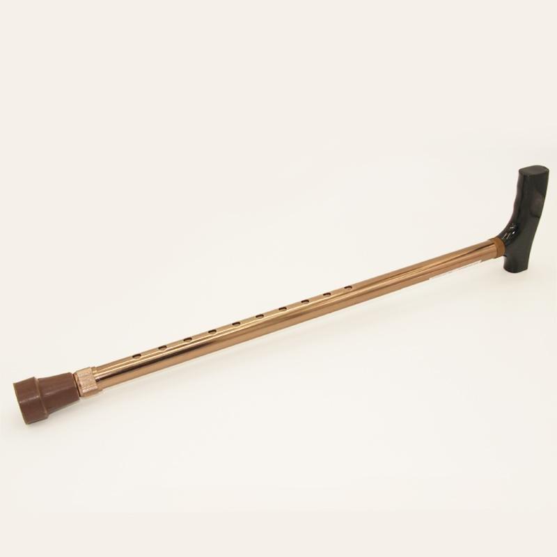 防滑手杖铝合金登山杖十档可调伸缩拐棍 单手老人拐杖 老人助行器