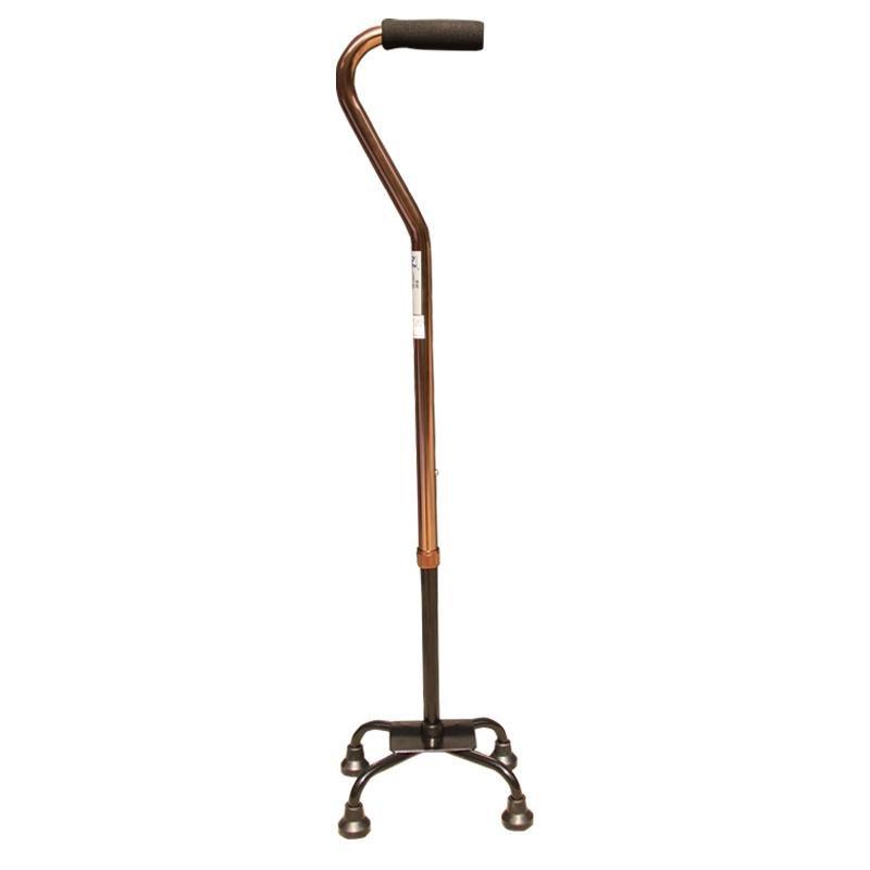 残疾人铝合金拐杖 四脚拐棍 防滑老人拐杖 十档可调助行器包邮