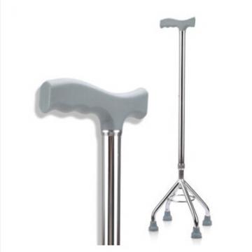 铝合金四脚拐老人防滑拐杖助行器